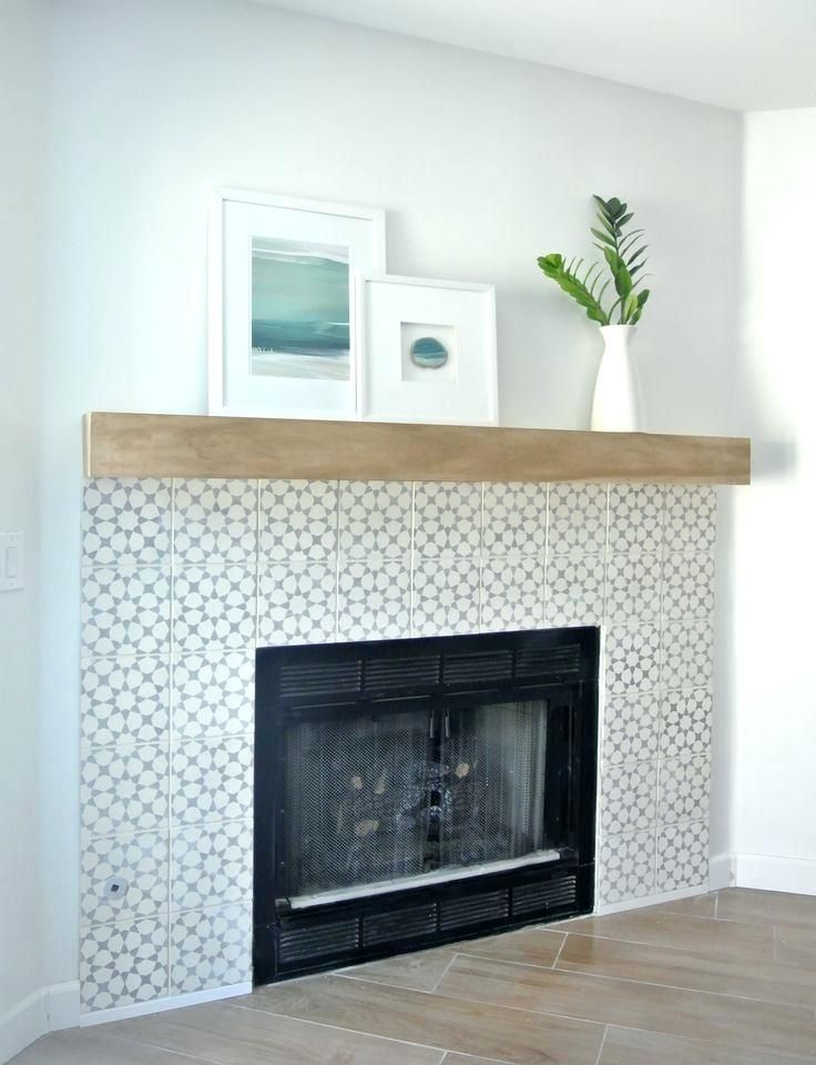 Simple Fireplace Surround Plans Diy Mantels Wooden Fire Mantel
