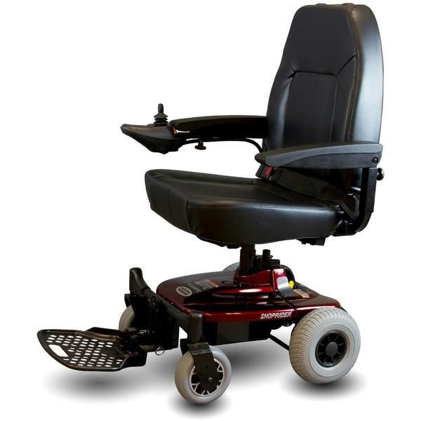 Shoprider Jimmie (UL8WPBS) Lightweight Folding Electric Wheelchair