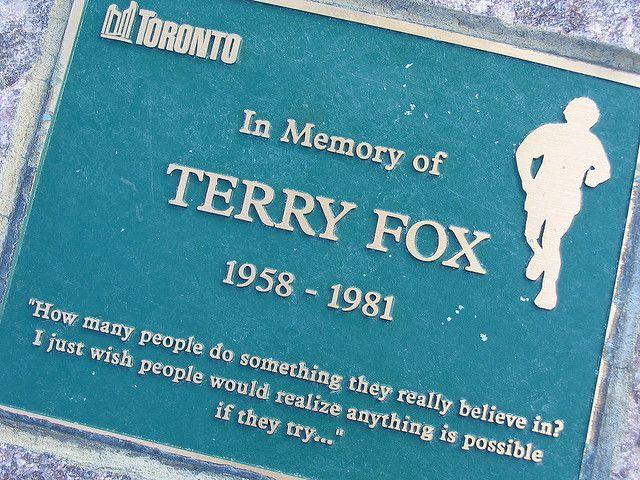 Terry Fox - Canadian Hero