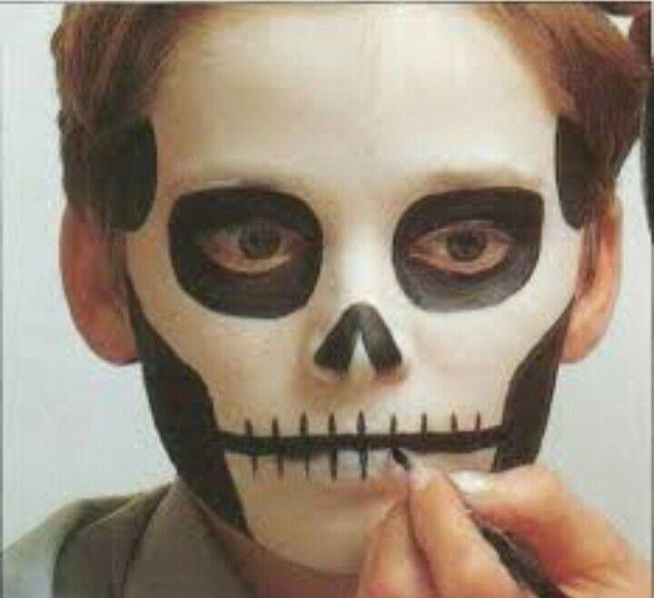 Les 25 meilleures id es de la cat gorie maquillage halloween gar on qui fait peur sur pinterest - Maquillage halloween qui fait peur ...