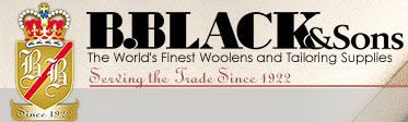 B Black & Sons: The World's Finest Woolens and Tailoring Supplies.  An excellent source of high-quality wools of various weaves and types in a variety of colors!