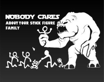 Best Funny Car Window Stickers Images On Pinterest Funny - Vinyl decals for your caramazoncom your stick family was delicious trex vinyl decal
