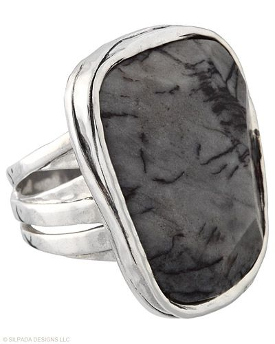 Ordered this ring & can't wait to get it! A masterpiece. Each Ring is a bit different than the next. Agate, Sterling Silver.