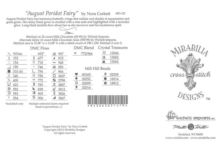 august peridot fairy md122 4/9