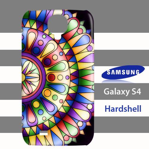 Pastel Mandala Linda Mann Samsung Galaxy S4 Case Cover Hardshell