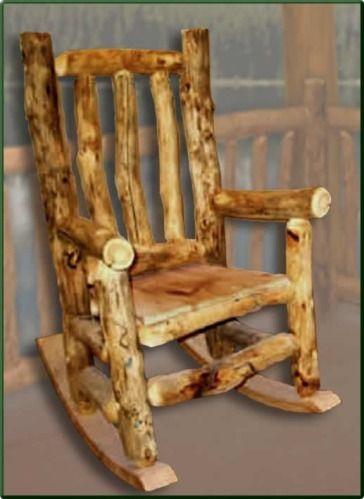 Maybe the will be my Christmas this year if I can find some affordable enough! Rustic rocking chairs for the front porch!