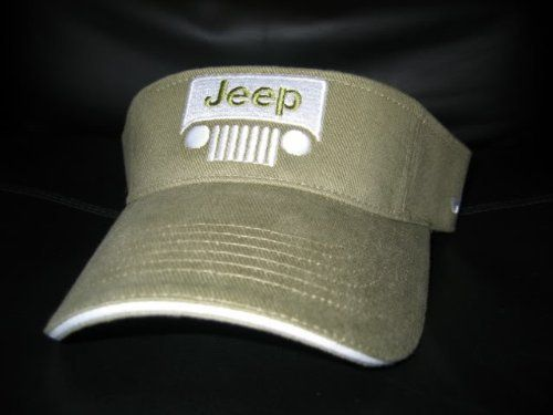 Jeep Visor Cap Hat .  11.95. Jeep tennis golf visor cap hat ... 8494c4879f88