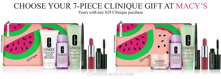 7piece clinique gifts at macys in 2020 clinique gift