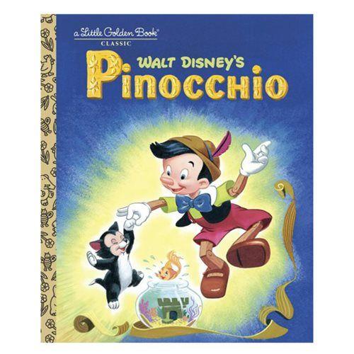 Pinocchio Little Golden Book - Penguin Random House - Pinocchio - Books at Entertainment Earth