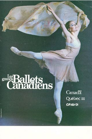 Les Grands Ballets Canadiens [affiche]