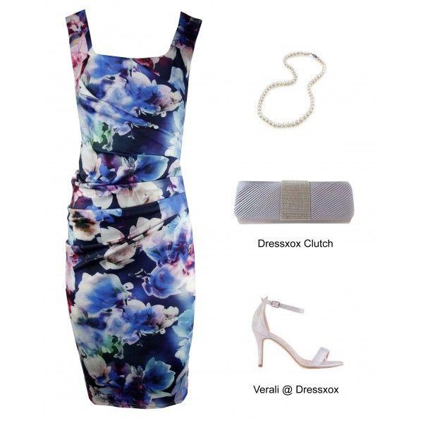 Fiona Contour Party Race Dress
