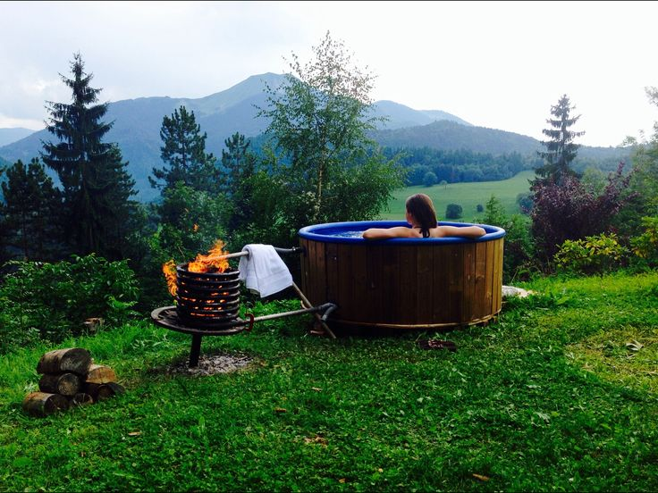 The 23 best DIY hot tub, ski chalet in the French Alps images on ...