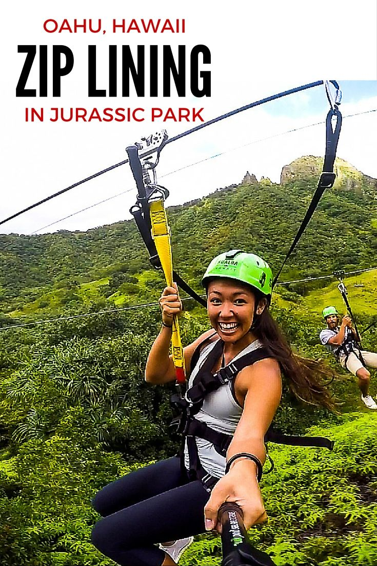 CLICK TO FIND OUT WHY YOU NEED TO GO ZIP LINING ON OAHU