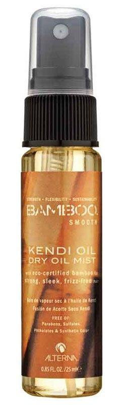 Alterna Bamboo Smooth - Kendi Dry Oil Mist - Alle Produkte der Alterna Bamboo Smooth Linie sind angereichert mit Bio und Fairtrade-zertifizierten Bambus Extrakt und edlem exotischen Kendil-Öl. Die kraftvolle Kombination von Naturstoffen versorgt jede Haarstruktur ideal. Das Alterna Bamboo Smooth Kendi Oil Dry Mist wird sofort vom Haar aufgenommen und wirkt mit dem stärkenden Bambus Extrakt. Es versorgt die Haarfasern mit Vital- und Nährstoffen, die Haarfarbe vor dem Ausbleichen geschützt und…