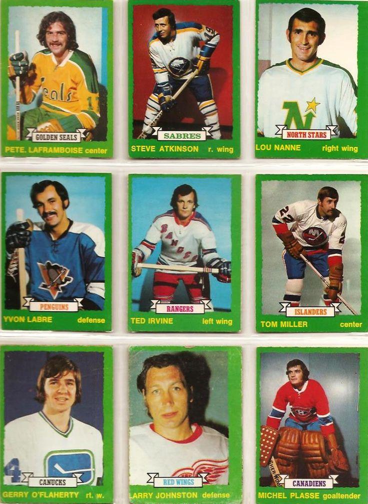 244-252 Pete LaFramboise, Steve Atkinson, Lou Nanne, Yvon Labre, Ted Irvin, Tom Miller, Gerry O'Flaherty, Larry Johnston, Michel Plasse