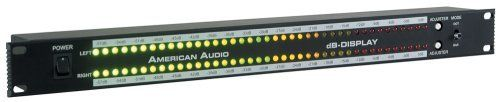 American Audio Db Metersoundactivated Rack Light by American Audio. $59.99. designed to set in an amp rack and view your decible level, eye candy for your rack. Save 25% Off!