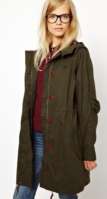 Fred Perry Classic Parka <<>> ASOS
