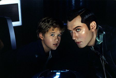 haley joel osment jude law - A.I, Intelligence Artificielle