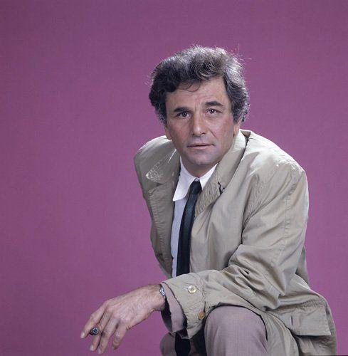 Columbo..Peter Faulk, as Lt Columbo-1971-2003