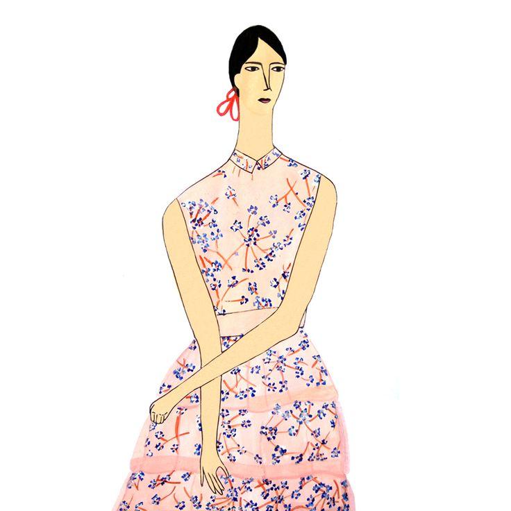 100 Girls Painting Series: Girl No. 36 – Aisyah Amiru