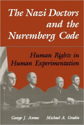 The Nuremberg Code is a set of research ethics principles for human experimentation set as a result of the subsequent Nuremberg trials at the end of the Second World War. || https://en.wikipedia.org/wiki/Nuremberg_Code