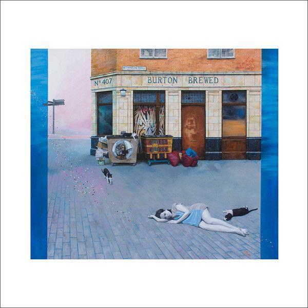 Art Giclée Print - Tamaño: 50 x 50 cm - Título: El Sueño de Westmoreland Road - Precio: 60 €. Dulce Porvenir Estudio. Rosa Álamo. Papel Hahnemuhle.