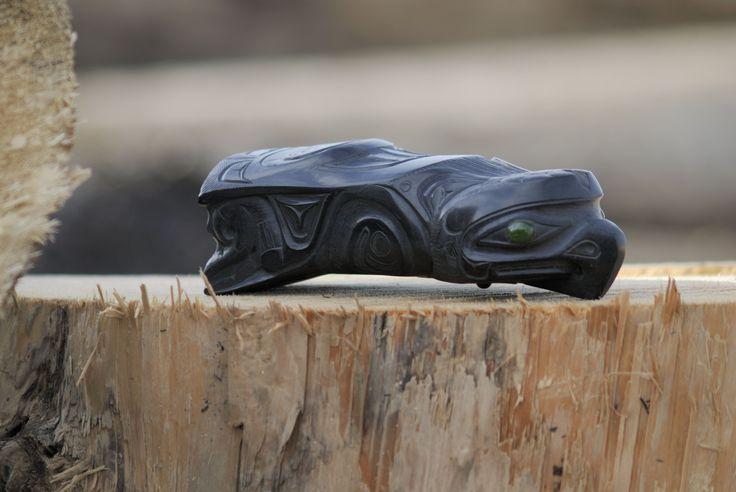 Best images about haida argillite carvings on pinterest