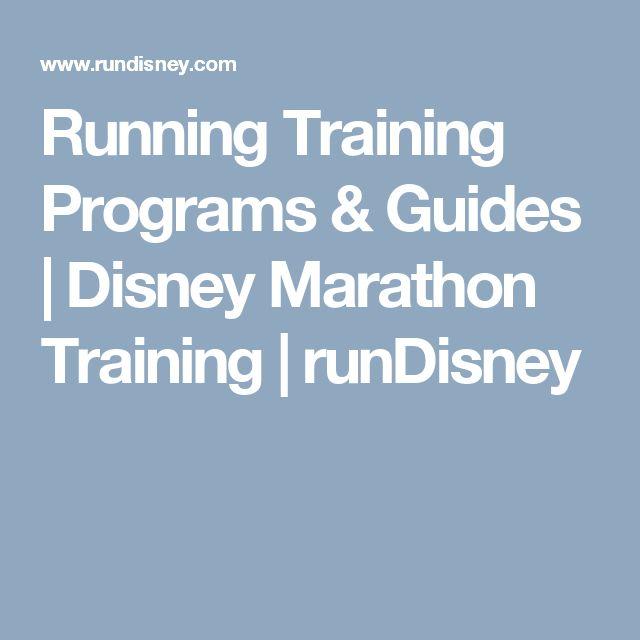 Running Training Programs & Guides | Disney Marathon Training | runDisney