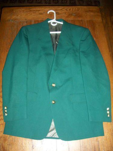 Jack-Nicklaus-Green-Blazer-Sports-Coat-Jacket-40-L