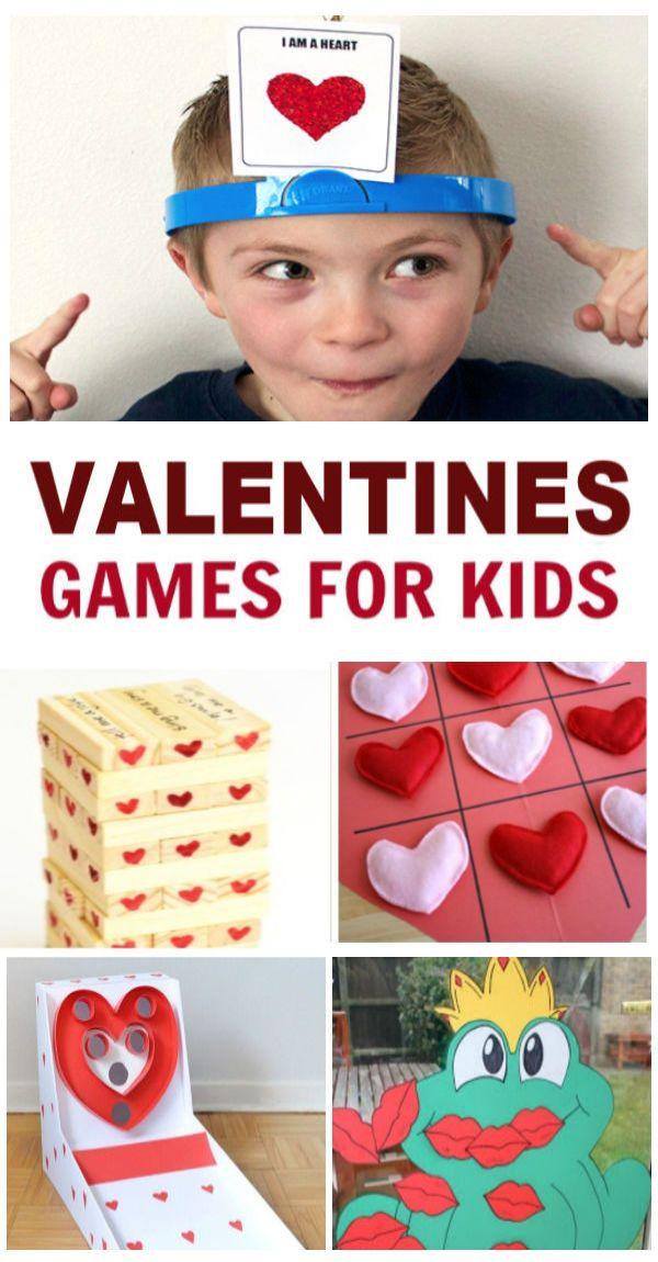 Valentines Games For Kids Valentines Kids Games Kids Party Games Valentines Games