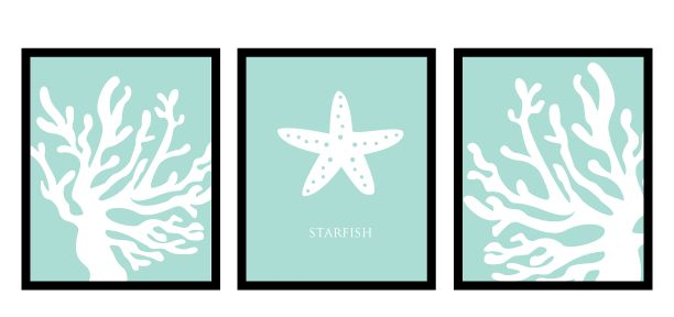 Beach Wall Art Printable, Free Printable