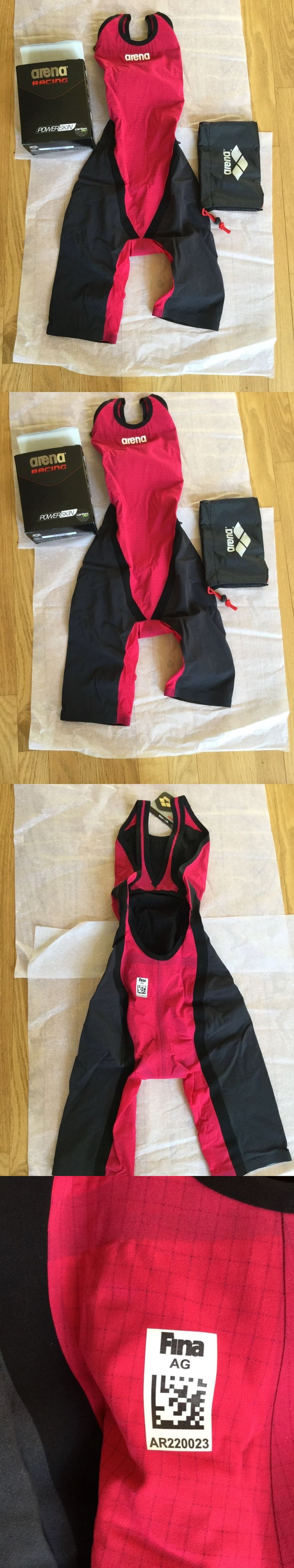 Youth 140037: Nwt Wmns Arena Powerskin Carbon Flex Swimsuit Tech Suit Open Back Size 30 -> BUY IT NOW ONLY: $249.95 on eBay!