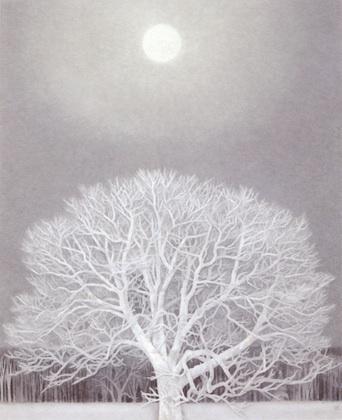東山魁夷 冬の華 Kaii Higashiyama
