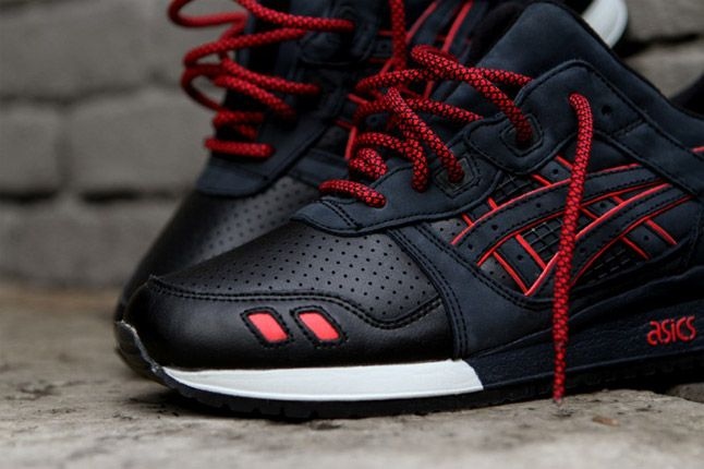 RONNIE FIEG x ASICS GEL LYTE III (TOTAL ECLIPSE) #mens #sneakers #kicks