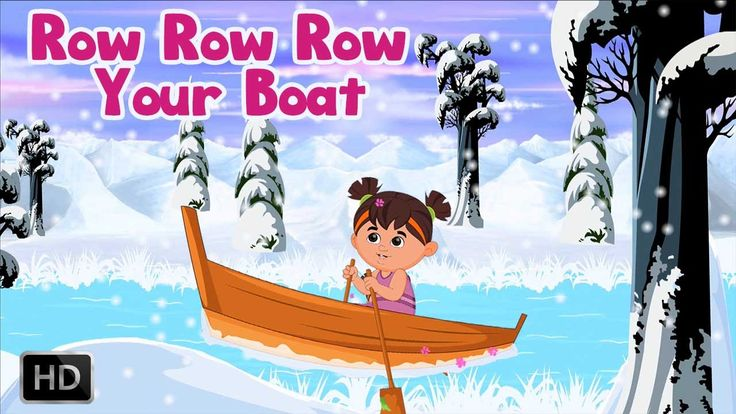 Row Row Row Your Boat | Nursery Rhyme for Children | Song with Lyrics