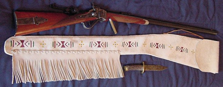 Leather Rifle Scabbards   Old West Leather, Buckles, Cowboy Holsters, Custom Western Belts