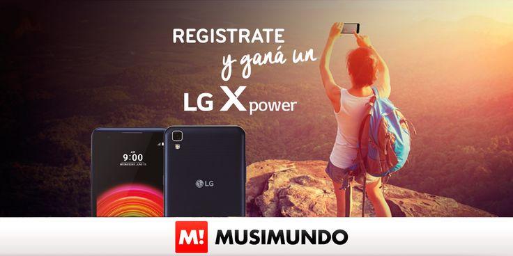 Musimundo.com - GANATE UN CELULAR LG xpower!