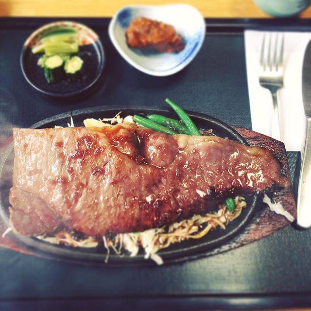 米沢で米沢牛サーロイン #米沢 #米沢牛 #肉 #サーロイン #柔らかい #美味い