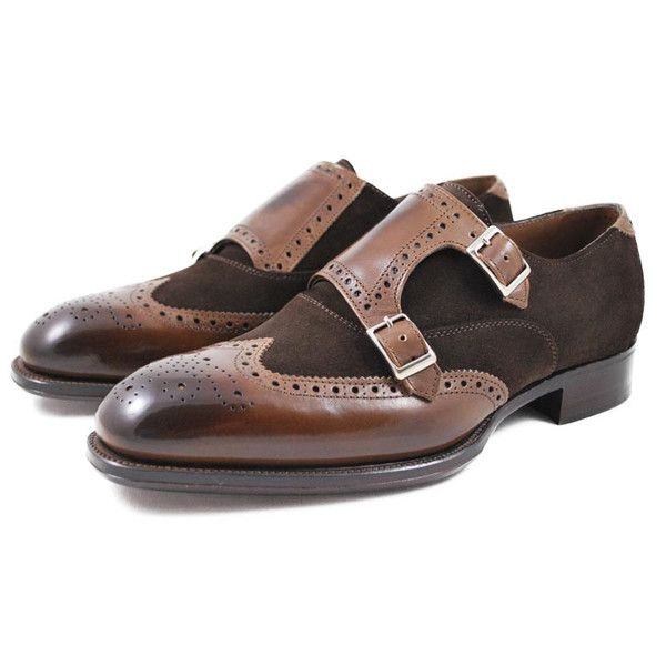 Alfred Sargent Two Toned Brogued Double Monk