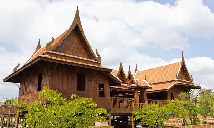 Traditional Thai Houses Thailand Architecture Pinterest