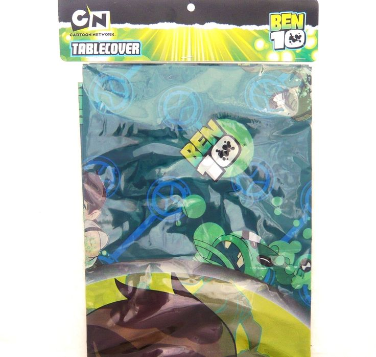 Ben 10 Party Decorations  Tablecover