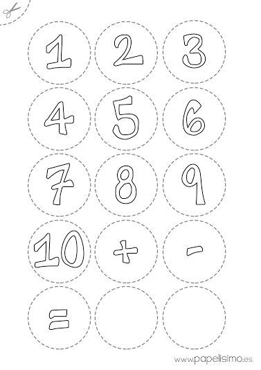 Juegos matemáticos para niños con pinzas | http://papelisimo.es/juegos-matematicos-para-ninos-con-pinzas/