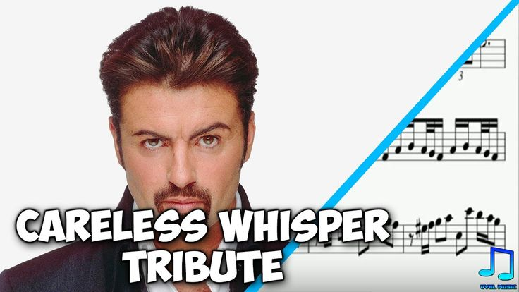 Alto Sax - Careless Whisper Tribute - George Michael (Sheet Music)