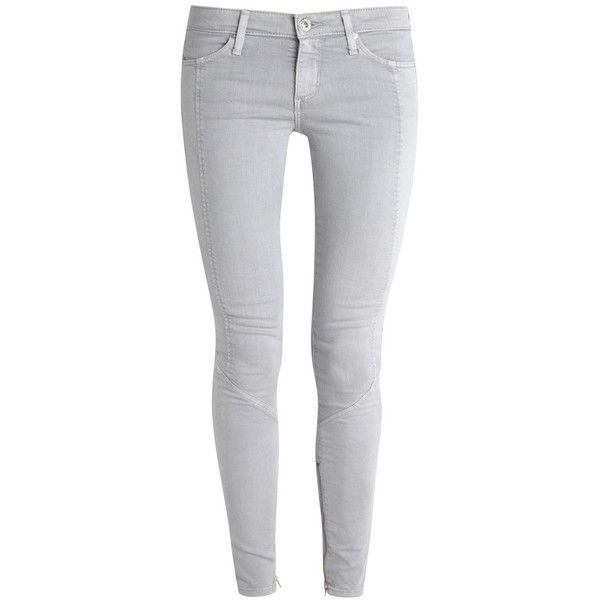 AG Jeans The Reagan light grey skinny jeans and other apparel, accessories and trends. Browse and shop 8 related looks.