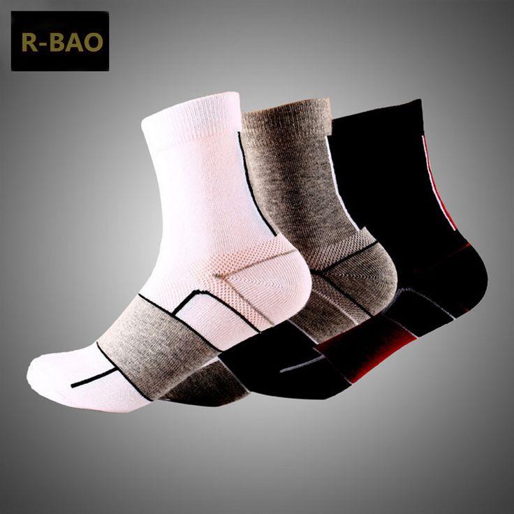 R-BAO 2016 1 Pair Professional Cycling Socks Road Bike mtb Men Women 3 Colors Sweat calcetines ciclismo hombre fiets sokken #Affiliate
