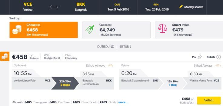 thailandia bangkok volo hotel offerte tritogo 2