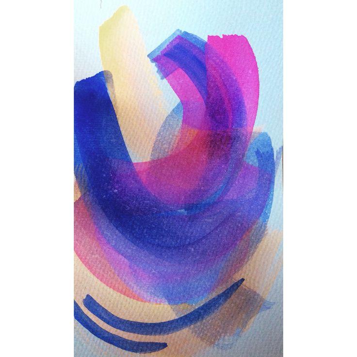 Swift watercolour movements  -elph