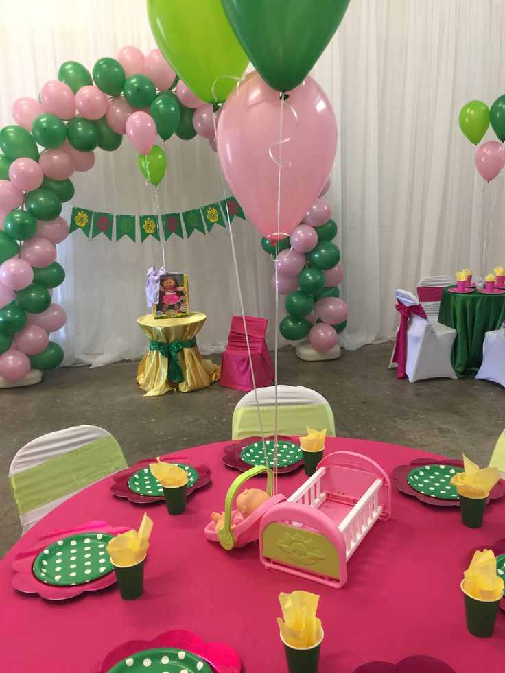 Cabbage Patch Kid Birthday Party