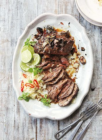 Thai Beef with Pomelo Salad