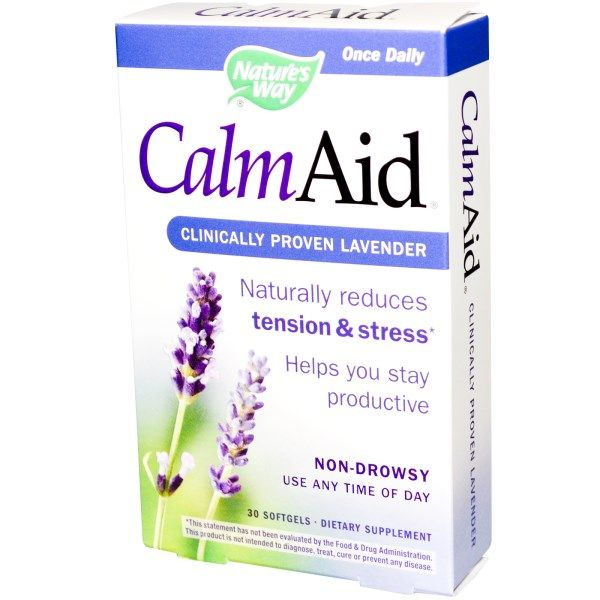 Nature's Way, Calm Aid, Clinically Proven Lavender, 30 Softgels  #stress #formula #support #balance #management #iherb #thingstobuy #shopping #relief